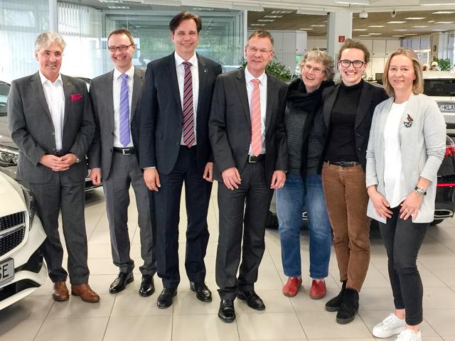 Neuer Vorstand bis 2019 (26.4.2017)